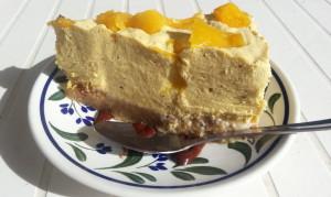 Raw Mango Cheese cake