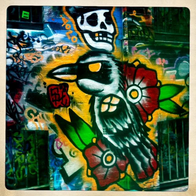 Flinders Lane Grafiti