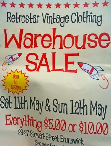Vintage Fair poster