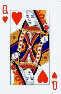 cards queen of hearts